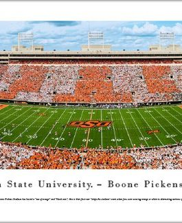 OSU Boone Pickens Stadium Panoramic Print