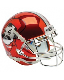 OSU Chrome Orange Pete Schutt Mini  Helmet