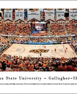 OSU Gallagher Iba Arena Panoramic Print