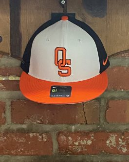 "Nike OSU Black/White/Orange ""OS"" Hat (Fitted)"