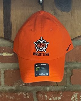 Nike Orange Badge Wrestling Hat (1 Size)