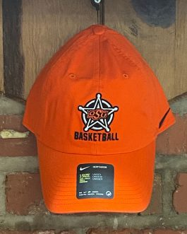 Nike Orange Badge Basketball Hat (1 Size)