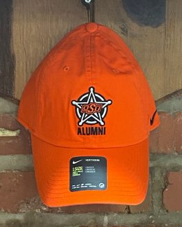 Nike Orange Badge Alumni Hat (1 Size)