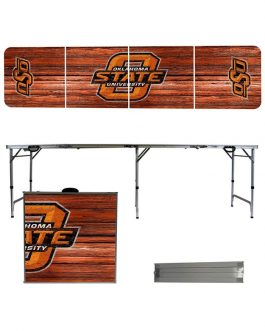 OSU 2 x 8 Tailgate Table