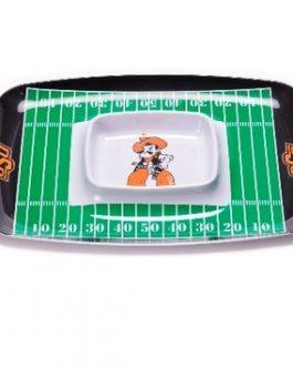 Oklahoma State Cowboys Chip & Dip Tray
