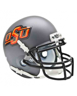OSU Gray Alternate Schutt Mini Helmet