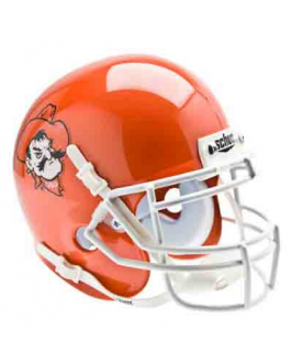 OSU Alternate Orange Pistol Pete Schutt Mini Helmet