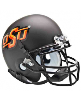 OSU Alternate Black Schutt Full Size XP Authentic Helmet