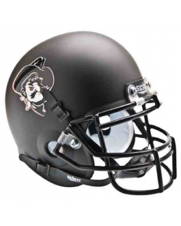 OSU Alternate Matte Black Pistol Pete Schutt Full Size XP Replica Helmet