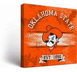 OSU Cowboys Canvas Banner Wall Art (12×12)
