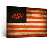OSU Cowboys Canvas Flag Wall Art (18×24)