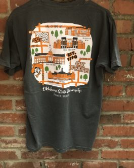 New! Calamity Jane's OSU Campus Storyboard V-Neck Shirt!