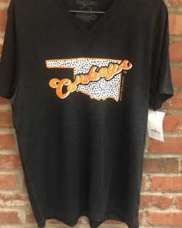 "New! Calamity Jane's OSU ""Cowboys"" V-Neck Shirt!"