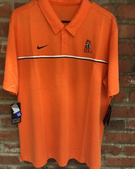 "New! Nike ""Pistol Pete"" Polo! (White or Orange)"
