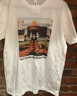 New! OSU Pistol Pete Mask T-Shirt!