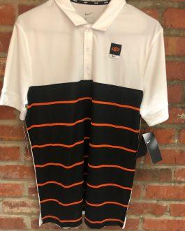 "New! Nike ""OSU"" Logo Polo (Black & Orange)"