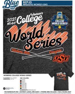 New! Grey Softball College World Series Shirt!